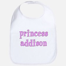 Princess ADDISON Personalized Bib