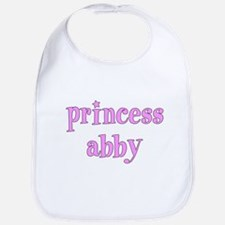Princess ABBY Personalized Bib