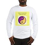 zen buddhist gifts and t0shir Long Sleeve T-Shirt