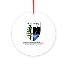 HOG Shield Ornament (Round)