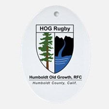 HOG Shield Oval Ornament