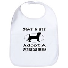 Adopt A Jack Russell Terrier Dog Bib
