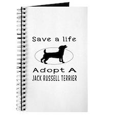 Adopt A Jack Russell Terrier Dog Journal