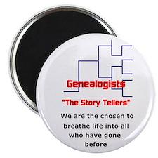 Genealogy Story Tellers Magnet
