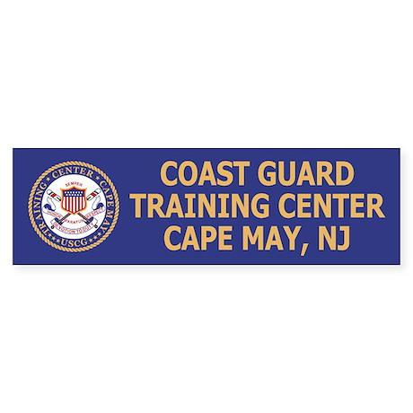 TRACEN Cape May<BR> Bumper Sticker