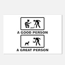 Bedlington Terrier Postcards (Package of 8)