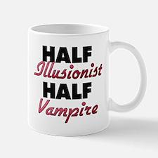 Half Illusionist Half Vampire Mugs
