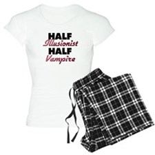 Half Illusionist Half Vampire Pajamas