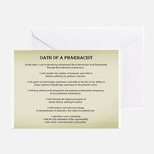 Pharmacist Oath Greeting Cards (Pk of 10)
