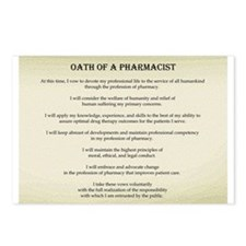 Pharmacist Oath Postcards (Package of 8)