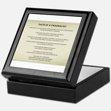 Pharmacist Oath Keepsake Box