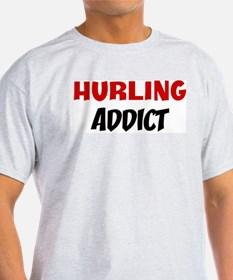 Hurling Addict Ash Grey T-Shirt