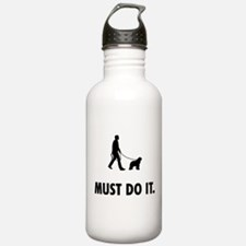 Bergamasco Sheepdog Water Bottle