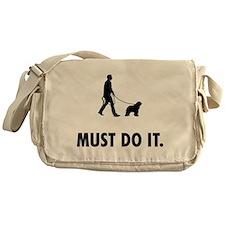 Bergamasco Sheepdog Messenger Bag
