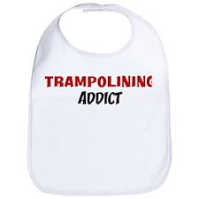 Trampolining Addict Bib