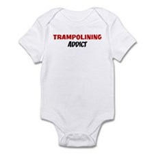 Trampolining Addict Infant Bodysuit