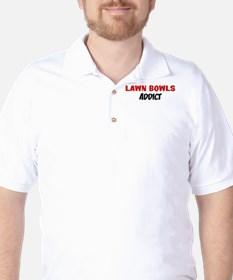 Lawn Bowls Addict Golf Shirt