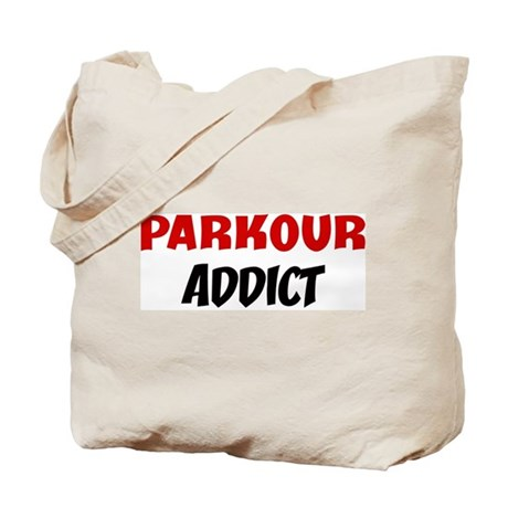 Parkour Addict Tote Bag
