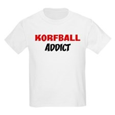 Korfball Addict Kids T-Shirt