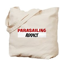 Parasailing Addict Tote Bag