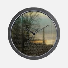 Washington D.C. Reflections Wall Clock