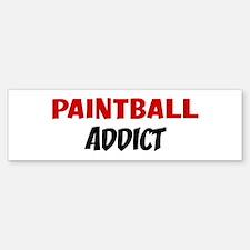 Paintball Addict Bumper Bumper Bumper Sticker
