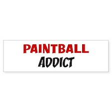 Paintball Addict Bumper Bumper Sticker
