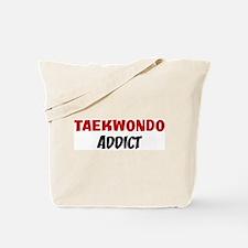 Taekwondo Addict Tote Bag