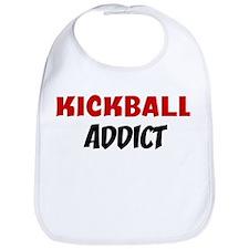 Kickball Addict Bib