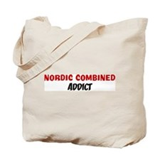 Nordic Combined Addict Tote Bag