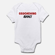Geocaching Addict Infant Bodysuit