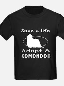 Adopt A Komondor Dog T