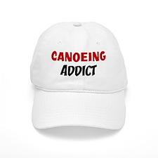 Canoeing Addict Baseball Cap