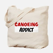 Canoeing Addict Tote Bag
