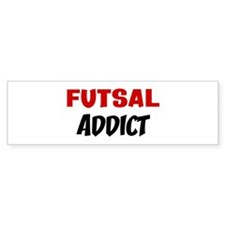 Futsal Addict Bumper Bumper Sticker