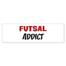 Futsal Addict Bumper Car Sticker