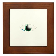 Weeping Eye Framed Tile