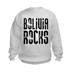 Bolivia Rocks Sweatshirt
