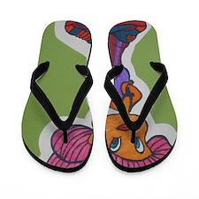 cute tweety Flip Flops