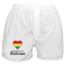 Happily Married Bolivian Boxer Shorts