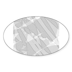 TV Trauma Oval Decal