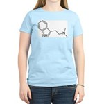 DMT Chemical Structure Women's Pink T-Shirt