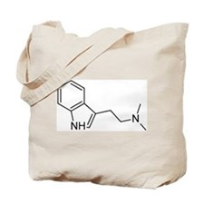 DMT Chemical Structure Tote Bag