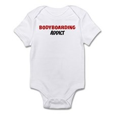 Bodyboarding Addict Infant Bodysuit