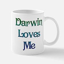 Darwin Loves Me Mug