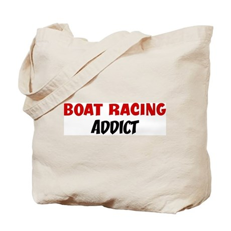 Boat Racing Addict Tote Bag
