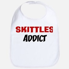 Skittles Addict Bib