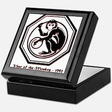 Year of the Monkey - 1992 Keepsake Box