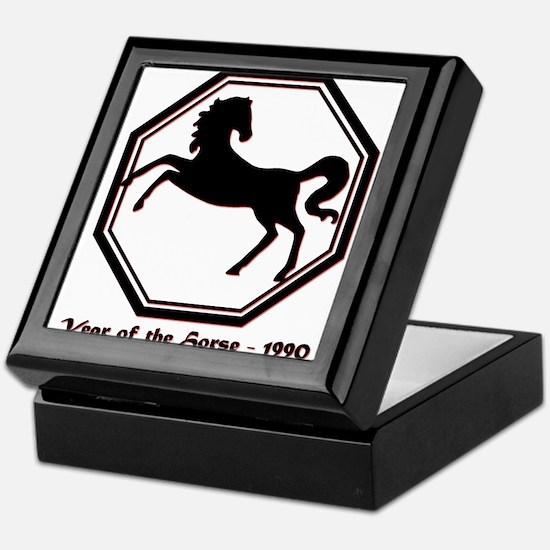 Year of the Horse - 1990 Keepsake Box