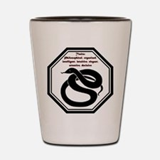 Year of the Snake - Traits Shot Glass